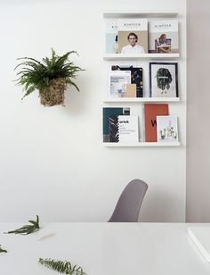 For clarity of thought and original ideas, keep offices walls simple and paint them white! Tikkurila Lumi Brilliant white paint is perfect for the job