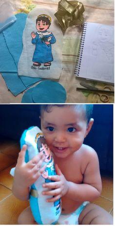 Boneco do anjinho Gabriel para meu querido sobrinho #handmade #dolls #costura
