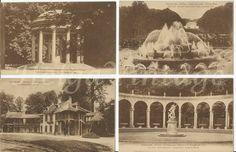Versailles postcards Temple of Love,The Park,Fountain,Marie Antoinette,etc Famous Places, Marie Antoinette, Versailles, Vintage Postcards, Budapest, Fountain, Temple, France, Park
