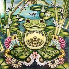Frog Enchanted Forest By Adi Colouring