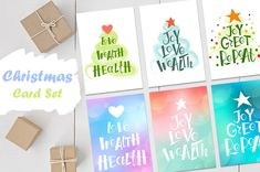 New year card clipart. JPEG by KoelschArtLab on Etsy Christmas Templates, Christmas Clipart, Christmas Greetings, Christmas Sale, Christmas Holidays, Christmas Cards, Greeting Card Template, Greeting Cards, Watercolor Clipart