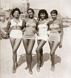 black women Black models vintage lingerie vintage beauty vintage swimwear black pinups vintage black fashion black pin-up girls vintage black models