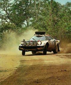 Lancia Stratos Safari rally