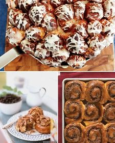 Cinnamon rolls are undeniably delicious. They may seem daunting to make, but cinnamon rolls can be made easily. Although most people save them for a Sunday brunch treat -- they can be enjoyed any day of the week!