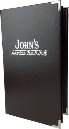 Johns American Bar & Grill - 381272 - Create an attractive arrangement of your menu items with menu covers from Menu Designs. We have a large selection of menu covers made from the finest materials. Whether you're a café interested in menu boards or a five star dining establishment who's looking for leather menu covers, we're sure you'll find the perfect menu covers for your restaurant.