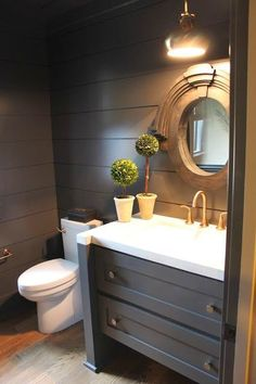 South Shore Decorating Blog: Jewel Boxes: 30 Glitzy and Glamorous Powder Rooms