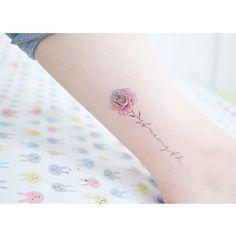 : Rose  . . #tattooistbanul #tattoo #tattooing #flower #flowertattoo  #rose…