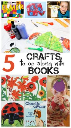 5 Activities that go with books & Tuesday Tutorials Week 26 - In The Playroom