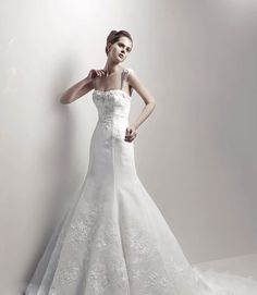 Just Got into the Store - Beautiful Enzoani Wedding Dress!  http://www.facebook.com/pages/Park-Avenue-Bridal-Boutique/