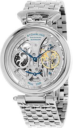 Stuhrling Original 797.01 Herren-Armbanduhr Analog Automatik Edelstahl