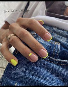 Chic Nails, Stylish Nails, Trendy Nails, Swag Nails, Fun Nails, Neutral Nails, Nail Manicure, Manicure For Short Nails, Minimalist Nails