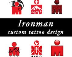 Ironman tattoo designs by DesignsbyBlackeye on Etsy