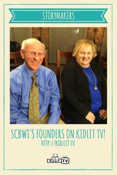 KidLit TV StoryMakers - SCBWI authors Stephen Mooser and Lin Oliver kidlit.tv