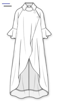 Dress Design Sketches, Fashion Design Drawings, Fashion Sketches, Fashion Drawing Dresses, Fashion Illustration Dresses, Fashion Dresses, Mode Abaya, Mode Hijab, Abaya Fashion