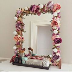 The Art Of Making A Diy Mirror Frame Is Being Very Por Among People This Simple And Easy Almost Can Be Finished In Short Time