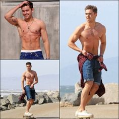 """When did he turn into a man?!? Probably one of the only men who can pull off """"Jorts""""."""