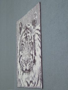 Tutorial for doing a tiger in Illusion knitting