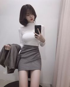 Discover recipes, home ideas, style inspiration and other ideas to try. Pretty Korean Girls, Cute Korean Girl, Cute Asian Girls, Beautiful Asian Girls, Ulzzang Girl Fashion, Korean Girl Fashion, Asian Fashion, Ulzzang Style, Girl Outfits