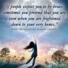 Walk Two Moons/Sharon Creech quote Children Book Quotes, Childrens Books, Book Writer, Book Authors, Quotable Quotes, True Quotes, Walk Two Moons, Literacy Circles, Sharon Creech