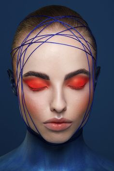 Creative Beauty Neon Eye Makeup with Body Painting inspired by The Regal Angel Fish by Karla Powell For Kuoni Travel Eye Makeup, Beauty Makeup, Fish Makeup, Makeup Brushes, Airbrush Makeup, Face Beauty, Body Makeup, Makeup Remover, Makeup Inspo