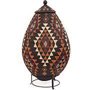 African Basket - Zulu - Ukhamba - 38 Inches Tall - #51089