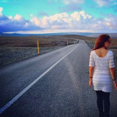 This boots are made for walking#iceland #bluesky #clouds #sky #whitedress #boots #roadtrip #adventure #road #travel #traveller #travelinstyle #crazy #vogue #fashion #fashionblog #fashionista #fashionblogger #blog #style #streetstyle #lookoftheday #photography #photooftheday #queendomoffashion #ootd
