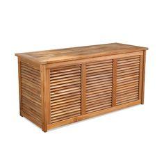 Premium Teak Outdoor Storage Box | Bainbridge Collection | Thos Baker