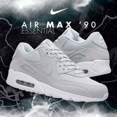 83d14a763978 Slip into a pair of the Fresh Nike Air Max 90  Light Grey  Colourway