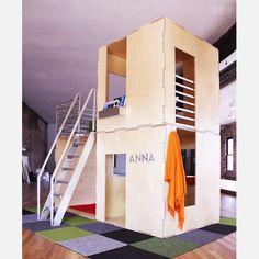 2cuba indoor playhouse - can be reconfigured in dozen of ways.