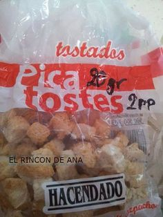 Picatostes Tostadas, Snack Recipes, Snacks, Chips, Chicken, Breakfast, Food, Weights, Foods