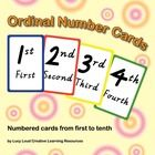 This+booklet+of+ordinal+number+cards+has+been+created+to+an+A4+paper+size+using+Victorian+Cursive+Script.+The+pages+can+be+printed+to+card+stock+an...