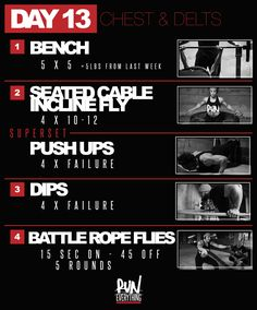 #RELPURPOSE | DAY 13 | CHEST & DELTS - Run Everything Labs