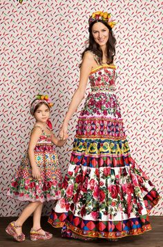 Dolce and Gabbana, summer 2017,''Mini Me''