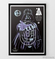 Star Wars Character Shooting Targets