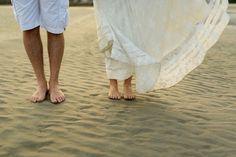 Ensaio pré-wedding na praia Ana Beatriz e Lucas Bride Style #casamento…