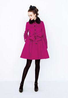 2015 Nov | stylelook | To b. by agnès b. 70s Fashion, Colorful Fashion, Cute Fashion, Paris Fashion, Fashion Art, Fashion Beauty, Girl Fashion, Vintage Fashion, Womens Fashion