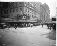 """NYC:  Roxy Theater, """"The Coolest Spot in New York"""", 1929."""