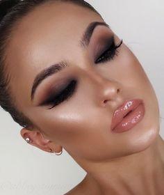 Trendy Make-up Tutorial Sommer Mac Lidschatten Ideen - Makeup Tutorial Lipstick Contour Makeup, Makeup Dupes, Makeup Hacks, Makeup Eyeshadow, Makeup Brushes, Eyeshadow Guide, Makeup Eyebrows, Blue Eyeshadow, Eyeshadow Palette