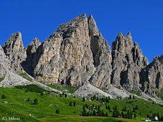 Dolomiti Passo Gardena  Montagne Italiane  #TuscanyAgriturismoGiratola