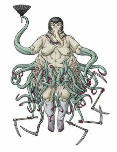 The Bloated Woman (Nyarlathotep)