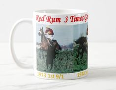 Red Rum Mug 3 times Grand National Winner 11oz ceramic mug by ANYSIZEPRINTED on Etsy