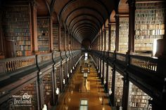 Trinity Collage Old Library in Dublin.  Planning a pilgrimage there this year.