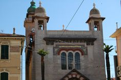 Bordighera, Chiesa di Terrasanta by adrianomaini.deviantart.com on @DeviantArt