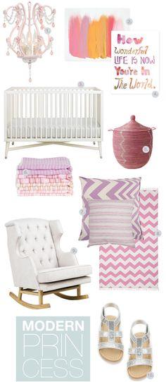 Modern Pink Nursery