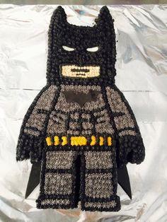 lego batman cake buttercream