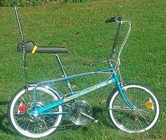 Cool Bicycles, Cool Bikes, Banana Seat Bike, Antique Bicycles, Chopper Bike, Hot Rides, Bike Art, Classic Bikes, Vintage Bicycles