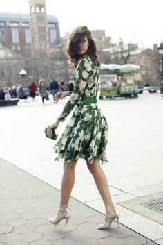 Best of Punchy Floral Dresses