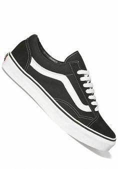 VANS Old Skool black/White  #planetsports