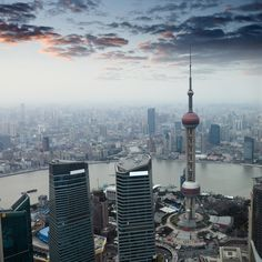 #Shanghai, China - the largest city proper by population in the world. More on PlaceKnow.com