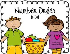 Number order FREEBIE!